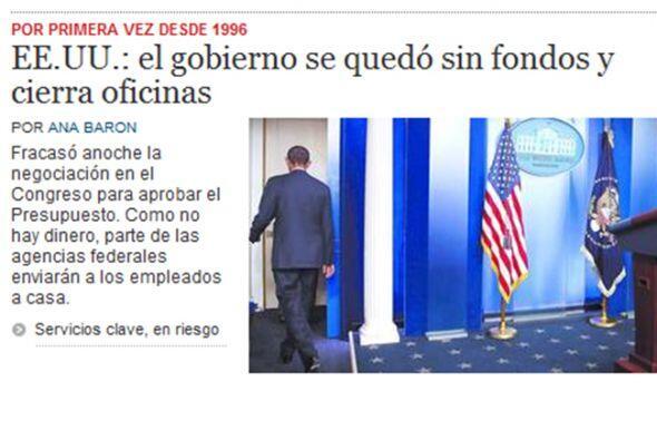 En tanto, el diario argentino El Clarín destaca que los servicios...