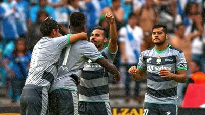 Puebla 0-1 Santos: El campeón revive ante la Franja