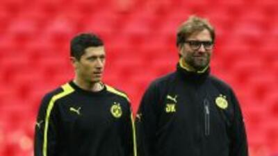Klopp desea conocer de inmediato la situación de Lewandowski, para así p...