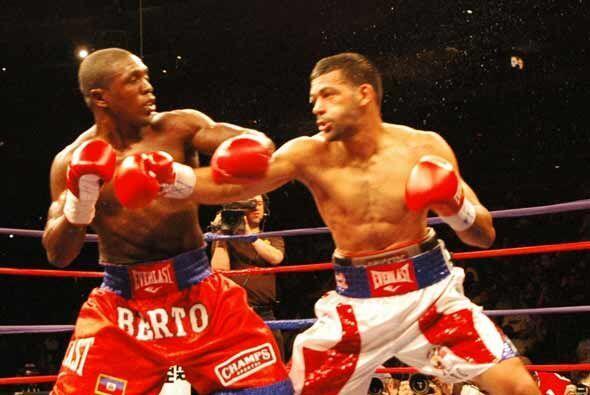 Los mejores golpes fueron siempre de Andre Berto.