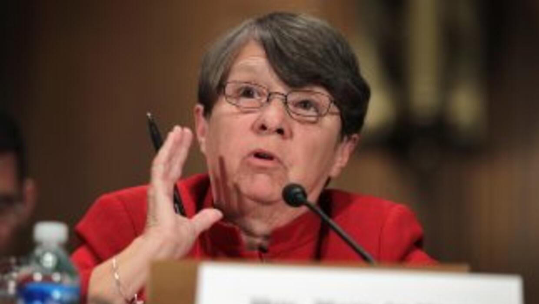 La presidenta de la SEC, Mary Jo White.