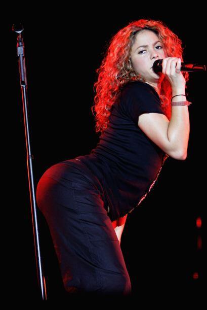 ¡Pero mira nada más! Shakira es bien conocida por tener unas caderas de...