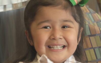 Sofía, la encantadora niña que lucha con optimismo por su vida