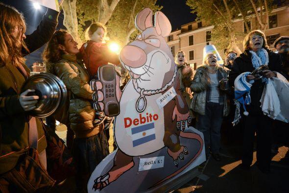 Las manifestaciones se realizaron en medio de la incertidumbre por una e...