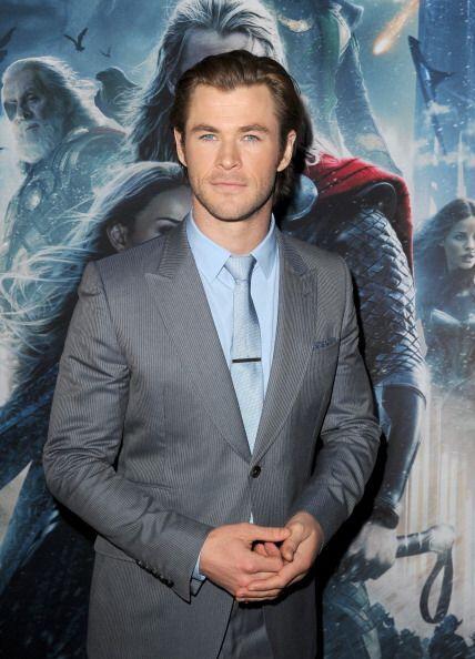 """Chris Hemsworth al guapo actor australiano y protagonista de la cinta """"T..."""