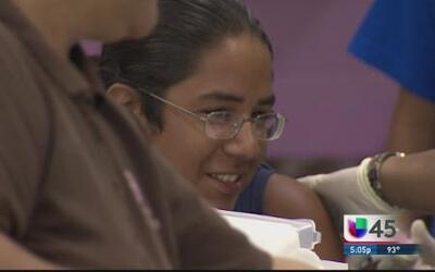 Día de Inmunización para estudiantes de Houston