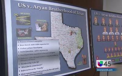 Desmantelan por completo a la pandilla Aryan Brotherhood
