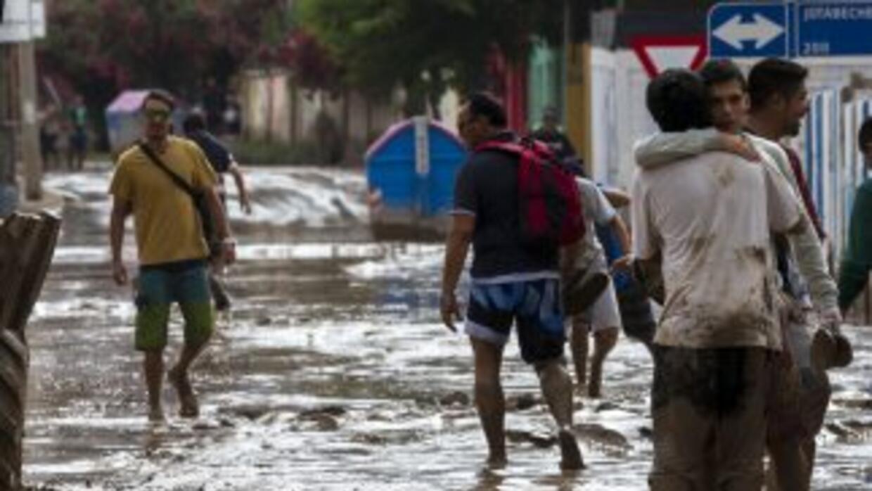 Las regiones de Antofagasta, Atacama y Coquimbo fueron afectadas la sema...