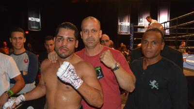 Samuel 'Macho' Figueroa y Henry Rivalta