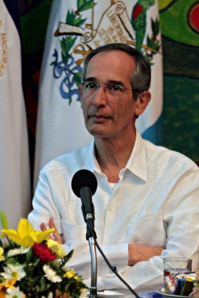 """El proyecto, que Colom denominó """"Plan Mesoamericano de Segur..."""