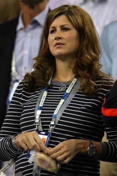 Mirka Federer es la esposa de Roger, quien se encuentra en la tercera po...