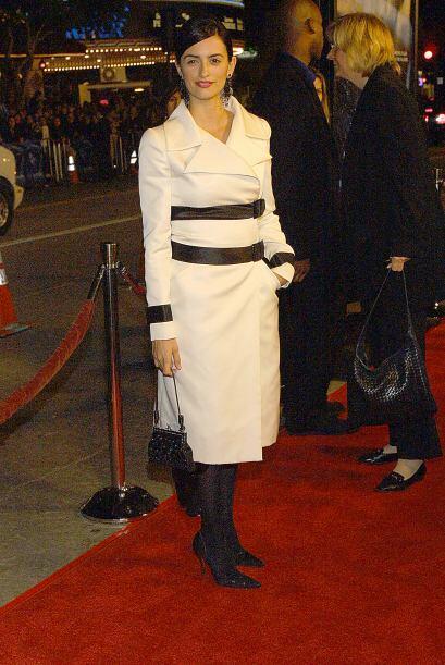 Penélope Cruz conquistó la pantalla grande con sus enormes ojos negros,...
