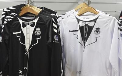 El traje negro será para recibir al Madrid.