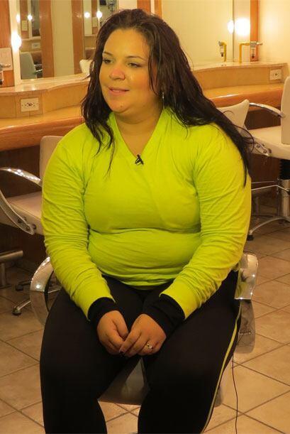 Yazaira nos contó que sufrió bullying por su sobrepeso.
