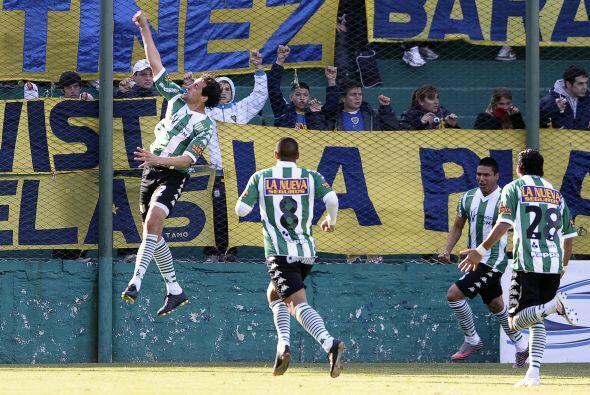 Incluso estuvieron abajo en el marcador después de Agustín Alayes hicier...