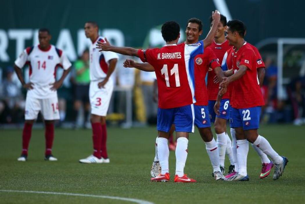Fue el tanto el que abrió el marcador y enfrió a un equipo cubano que le...