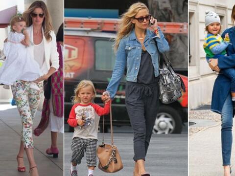 ¡Estas 'celebrities' además de ser hermosas mamás se dan el lujo de ser...