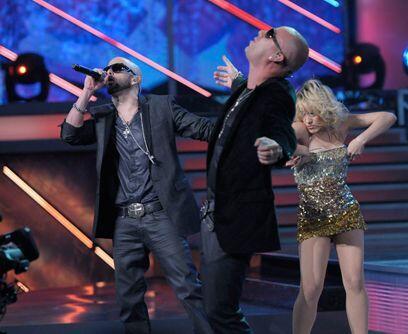 Wisin y Yandel cantaron el tema 'Te siento'
