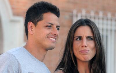 Chicharito Hernández y Lucía Villalón fueron retrat...