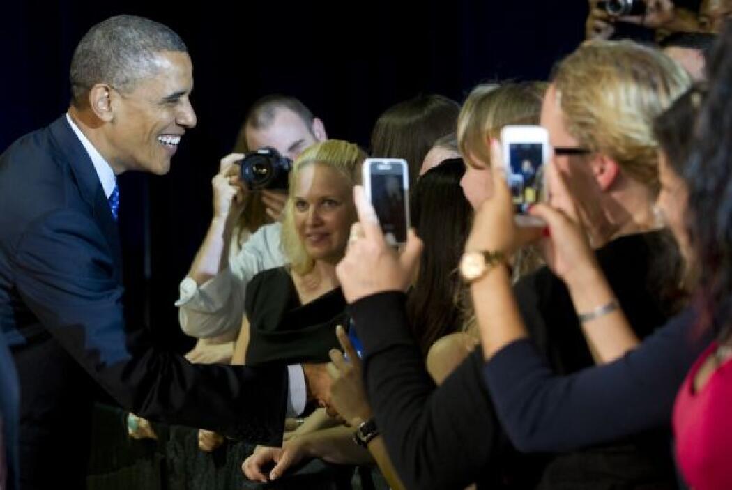 De visita en Austin, el Presidente dijo que ya hemos dejado atrás los ob...