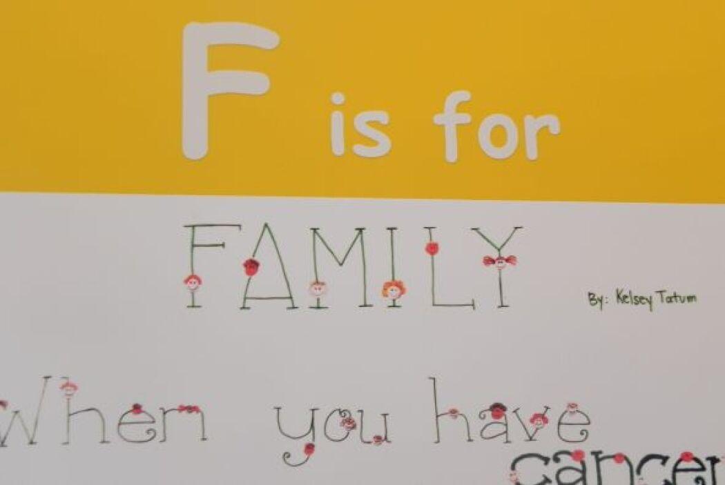 F is for family.... la familia, esencial en St. Jude, que hace un extrao...