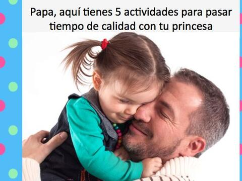 Papá, para este día del padre, te traemos cinco actividade...
