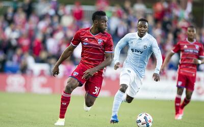 Maynor Figueroa FC Dallas vs Sporting KC