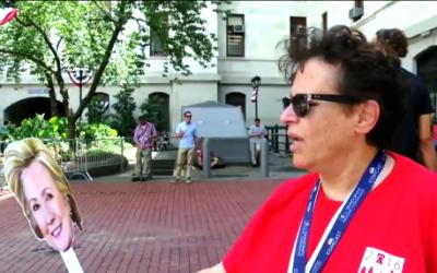 Lo que le preguntarían a Hillary Clinton en las calles de Filadelfia
