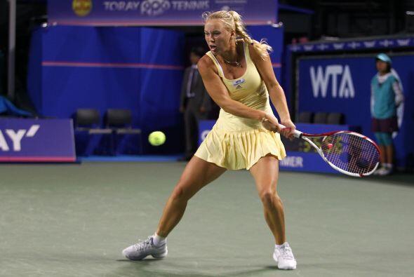 La número uno de la WTA llegaba como campeona defensora de este t...