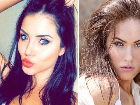No están viendo doble, ni tampoco es la hermana gemela de Megan F...