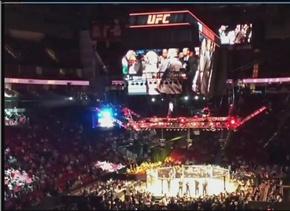 Recuento del ambiente del UFC en Houston