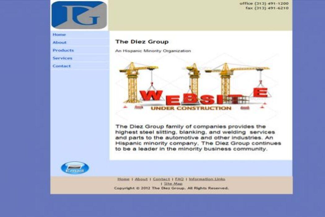 11. The Diez Group.  Ubicación- Dearborn, Michigan.  CEO- Gerald Diez....
