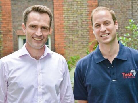 El periodista Max Foster le sacó al príncipe William las p...