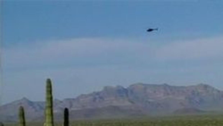 Patrullando la zona fronteriza de Arizona-Mexico