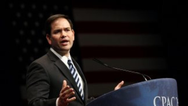 El senador por la Florida Marco Rubio
