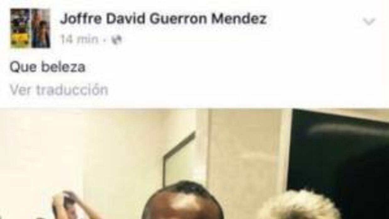 Geuerrón balconeó a Israel Jiménez