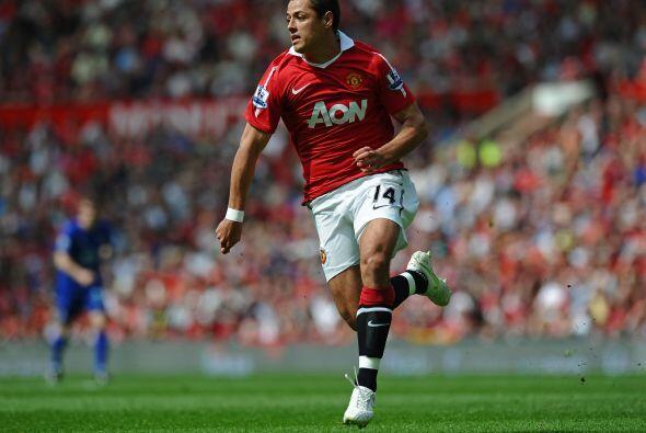 Javier Hernández demostró nuevamente que su esfuerzo, sus ganas y su olf...