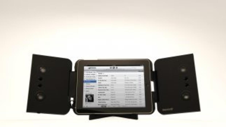 iMainGo son las nuevas bocinas en forma de estuche para iPad