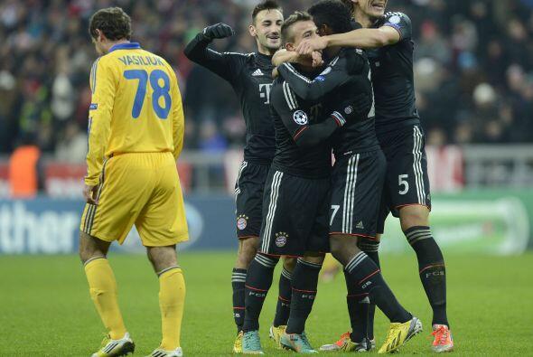 Porque el Bayern, actual subcampeón de la 'Champions', parece un equipo...