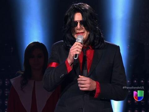 """¡Pero qué gran sorpresa dio Michael Jackson en """"Parodi..."""