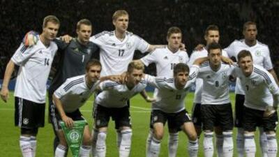 Selección de Alemania.