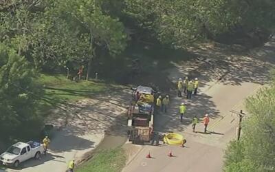 Una fuga de gas propició la evacuación de varios negocios en Alvin