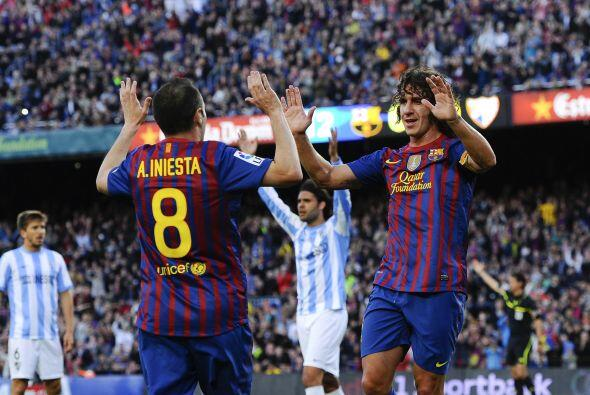 Era el 1 a 0 a favor del equipo de Guardiola, y comenzaba la fiesta azul...