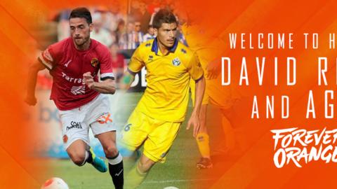 Agus y David Rocha, contrataciones de Houston Dynamo