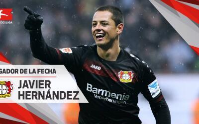Javier Hernández se llevó un galardón más en...
