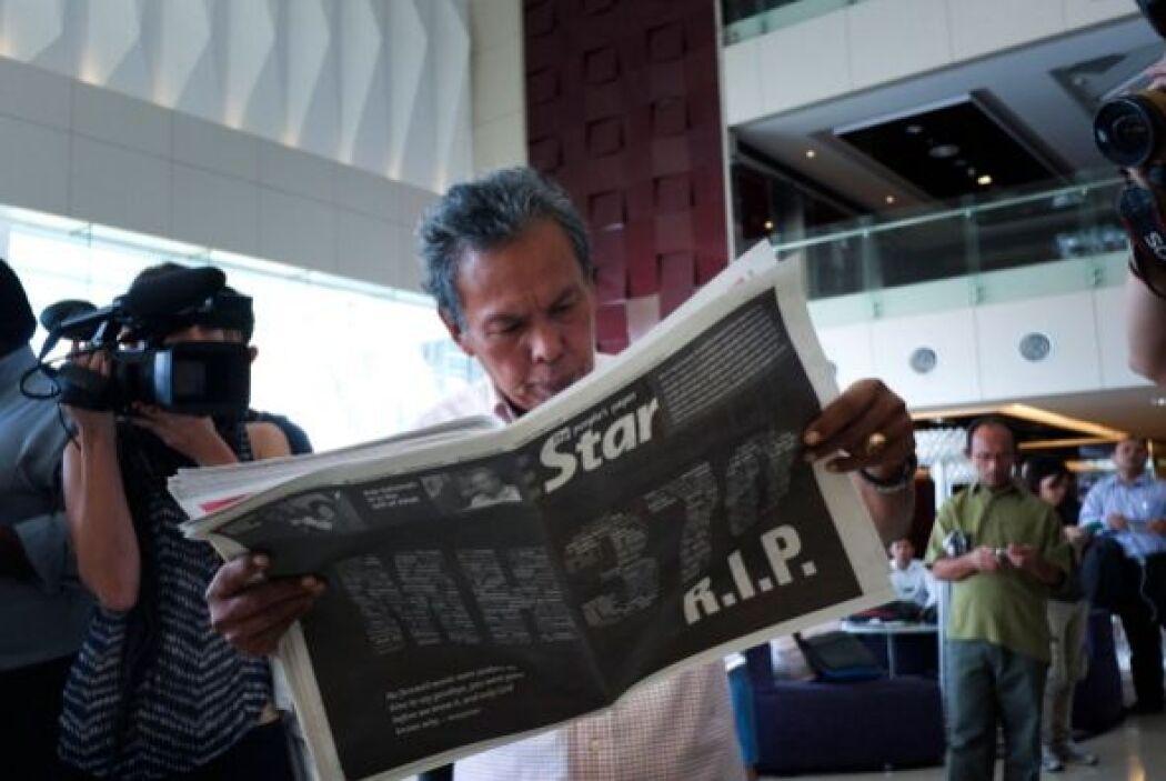 Najib Razak agregaba que los familiares de las 239 personas a bordo del...