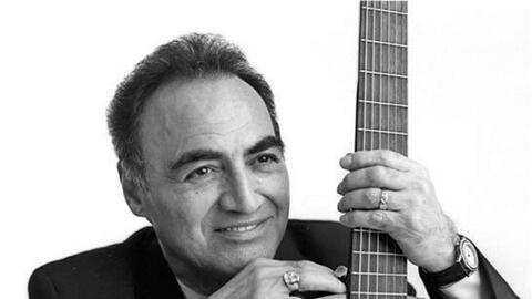 """Gustavo López, integrante del trío """"Los Tres Ases"""""""