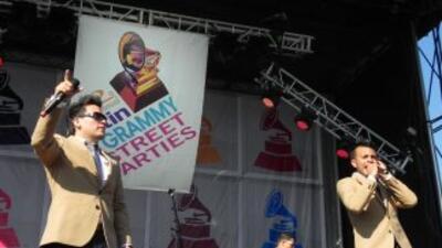 Alerta Zero en el Latin GRAMMY® Street Party de Chicago.