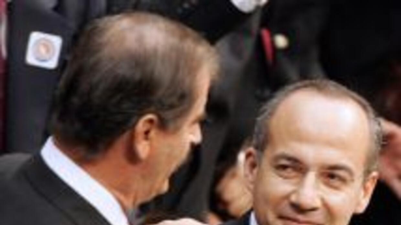 El ex presidente mexicano Vicente Fox afirmó que le advirtió a Felipe Ca...