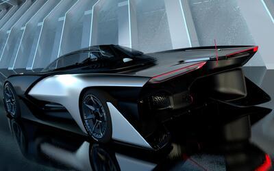 Faraday Future FFZERO1 - Imágenes Oficiales
